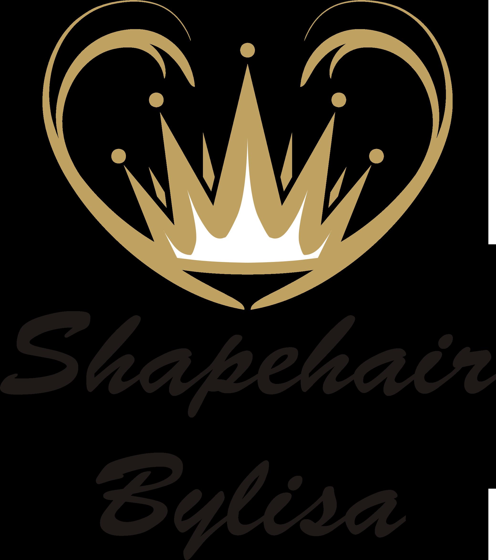 Shapehair bylisa logo goud zwart